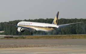 Boeing 777 Singapore Airlines