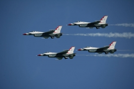 USAF Thunderbirds F-16S